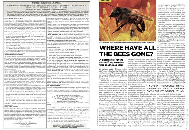 Article Preview: WHERE HAVE ALL THE BEES GONE?, AUG. 14th 2006 2006 | Maclean's