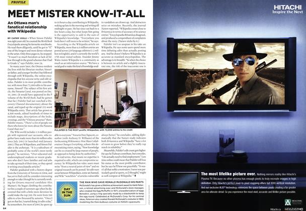 Article Preview: MEET MISTER KNOW-IT-ALL, AUG. 14th 2006 2006 | Maclean's