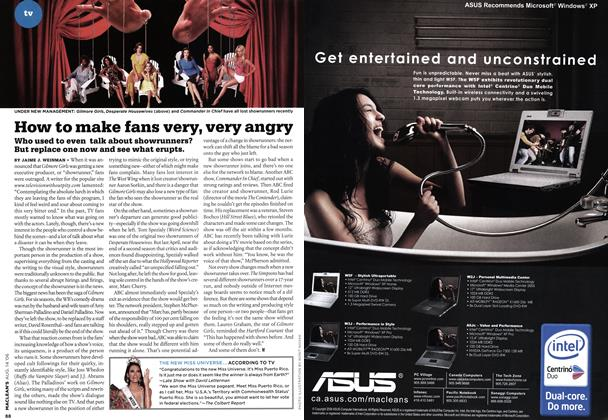Article Preview: How to make fans very, very angry, AUG. 14th 2006 2006 | Maclean's