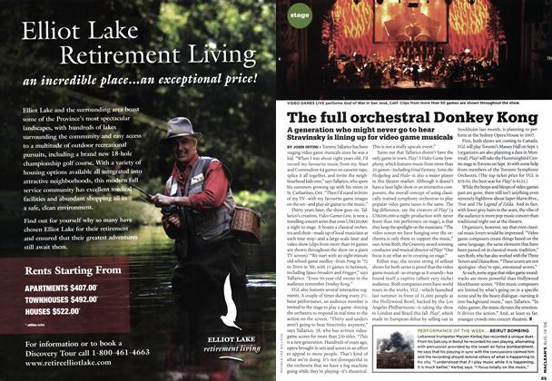 Article Preview: The full orchestral Donkey Kong, AUG. 14th 2006 2006 | Maclean's