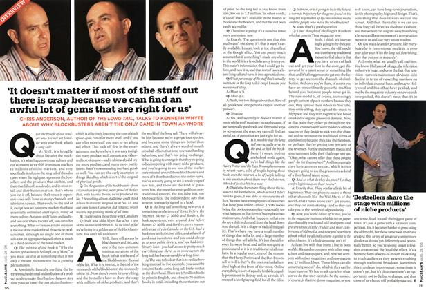 Article Preview: 'It doesn't matter if most of the stuff out there is crap because we can find an awful lot of gems that are right for us', AUG. 28th 2006 2006 | Maclean's