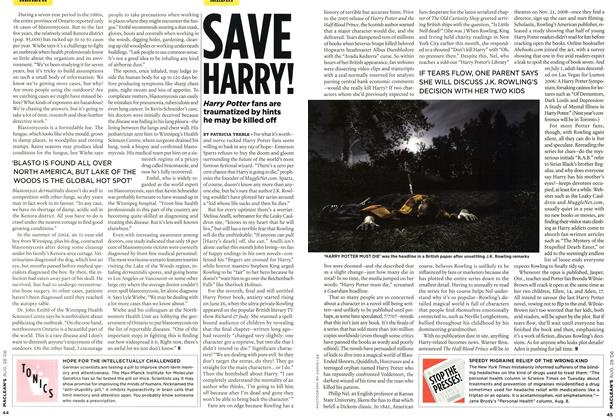 Article Preview: SAVE HARRY!, AUG. 28th 2006 2006 | Maclean's