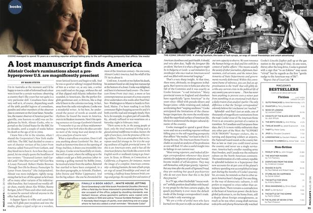 Article Preview: A lost manuscript finds America, AUG. 28th 2006 2006 | Maclean's