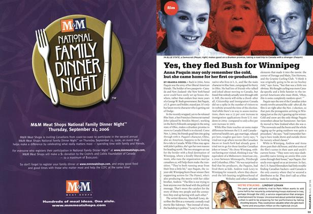 Article Preview: Yes, they fled Bush for Winnipeg, AUG. 28th 2006 2006 | Maclean's