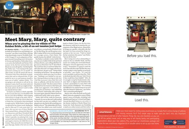 Article Preview: Meet Mary, Mary, quite contrary, AUG. 28th 2006 2006 | Maclean's