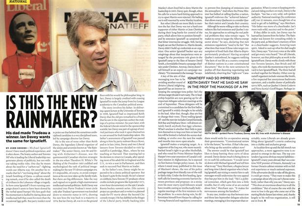 Article Preview: IS THIS THE NEW RAINMAKER?, SEPT. 4th 2006 2006 | Maclean's