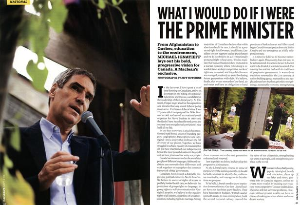 Article Preview: WHAT I WOULD DO IF I WERE THE PRIME MINISTER, SEPT. 4th 2006 2006 | Maclean's