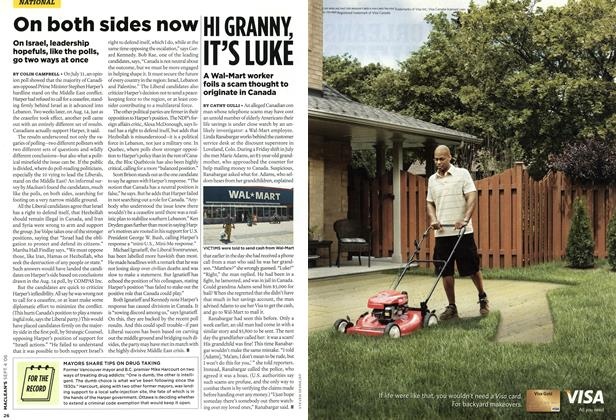 Article Preview: HI GRANNY, IT'S LUKE, SEPT. 4th 2006 2006 | Maclean's