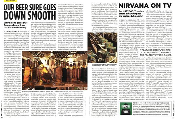 Article Preview: NIRVANA ON TV, SEPT. 4th 2006 2006 | Maclean's