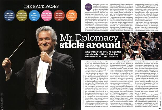 Article Preview: Mr. Diplomacy sticks around, SEPT. 4th 2006 2006 | Maclean's