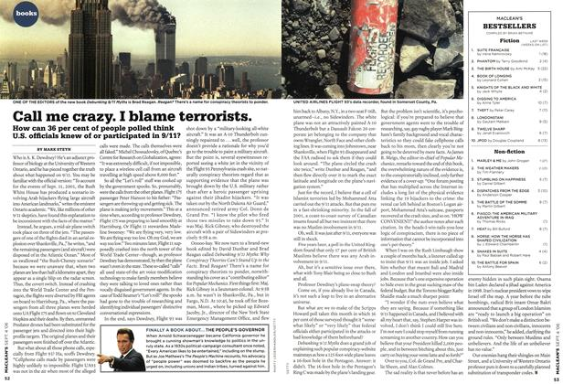 Article Preview: Call me crazy. I blame terrorists., SEPT. 4th 2006 2006 | Maclean's