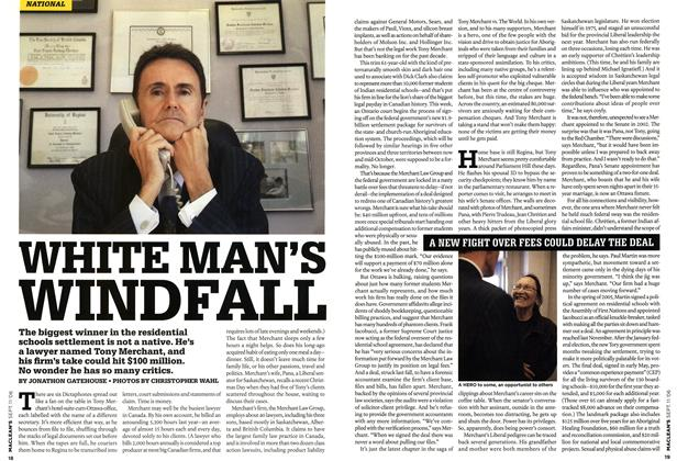Article Preview: WHITE MAN'S WINDFALL, SEPT. 11th 2006 2006 | Maclean's