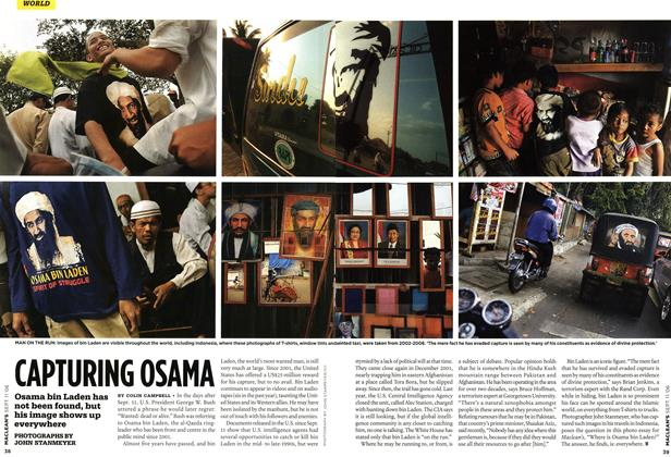 Article Preview: CAPTURING OSAMA, SEPT. 11th 2006 2006 | Maclean's