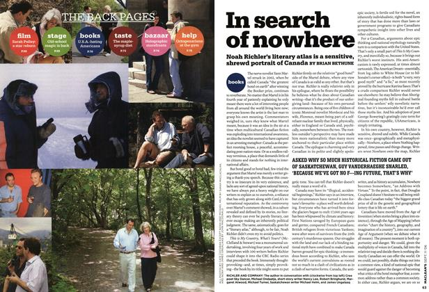 Article Preview: In search of nowhere, SEPT. 11th 2006 2006 | Maclean's