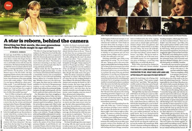 Article Preview: A star is reborn, behind the camera, SEPT. 11th 2006 2006 | Maclean's