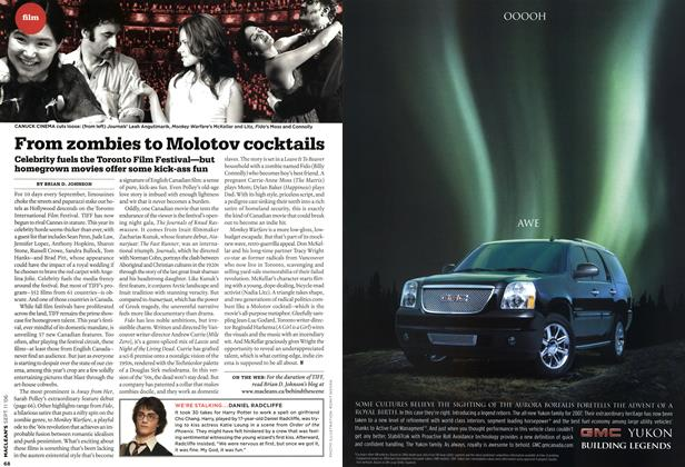 Article Preview: From zombies to Molotov cocktails, SEPT. 11th 2006 2006 | Maclean's