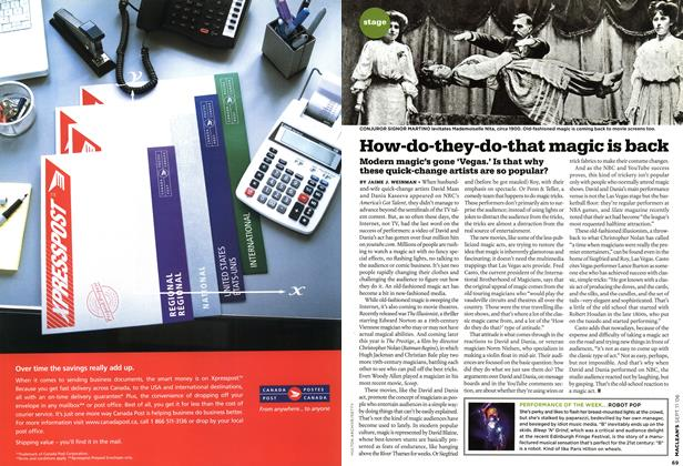 Article Preview: How-do-they-do-that magic is back, SEPT. 11th 2006 2006 | Maclean's