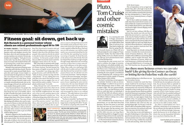 Article Preview: Pluto, Tom Cruise and other cosmic mistakes, SEPT. 11th 2006 2006 | Maclean's