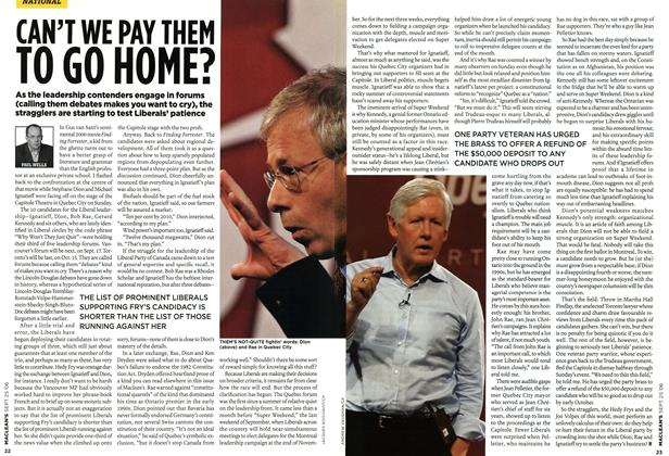 Article Preview: CAN'T WE PAY THEM TO GO HONE?, SEPT. 25th 2006 2006 | Maclean's