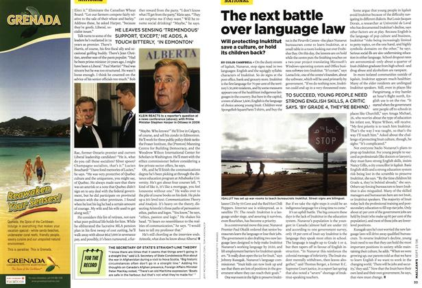 Article Preview: The next battle over language law, SEPT. 25th 2006 2006 | Maclean's
