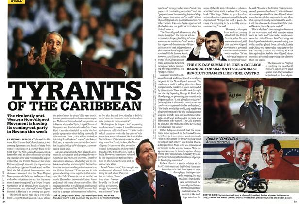 Article Preview: TYRANTS OF THE CARIBBEAN, SEPT. 25th 2006 2006 | Maclean's