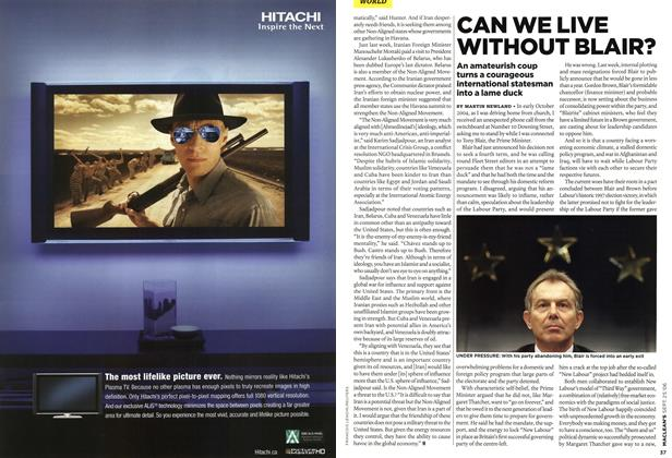 Article Preview: CAN WE LIVE WITHOUT BLAIR?, SEPT. 25th 2006 2006 | Maclean's