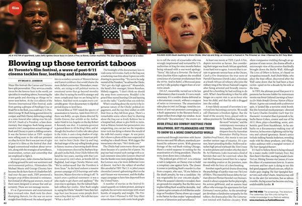 Article Preview: Blowing up those terrorist taboos, SEPT. 25th 2006 2006 | Maclean's