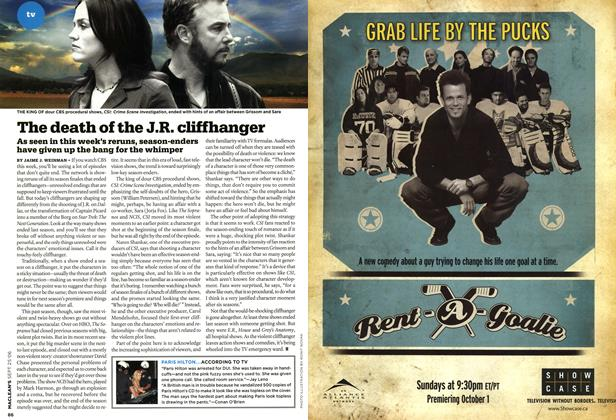 Article Preview: The death of the J.R. cliffhanger, SEPT. 25th 2006 2006 | Maclean's