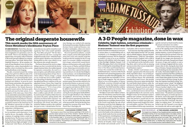 Article Preview: The original desperate housewife, SEPT. 25th 2006 2006 | Maclean's