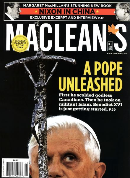 Issue: - OCT. 2nd 2006 | Maclean's