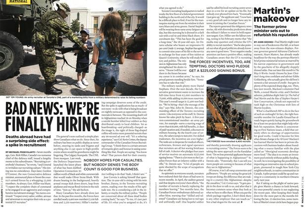 Article Preview: BAD NEWS: WE'RE FINALLY HIRING, OCT. 2nd 2006 2006 | Maclean's