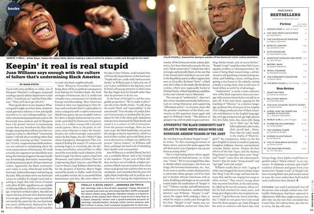 Article Preview: Keepin' it real is real stupid, OCT. 2nd 2006 2006 | Maclean's