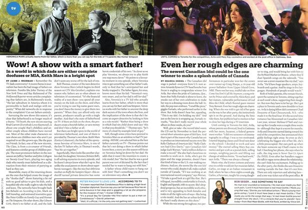 Article Preview: Wow! A show with a smart father!, OCT. 2nd 2006 2006 | Maclean's