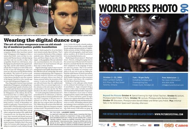 Article Preview: Wearing the digital dunce cap, OCT. 2nd 2006 2006 | Maclean's