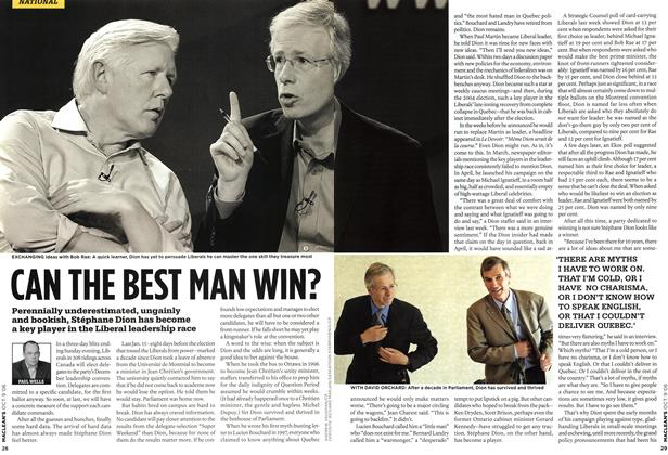 Article Preview: CAN THE BEST MAN WIN?, OCT. 9th 2006 2006 | Maclean's