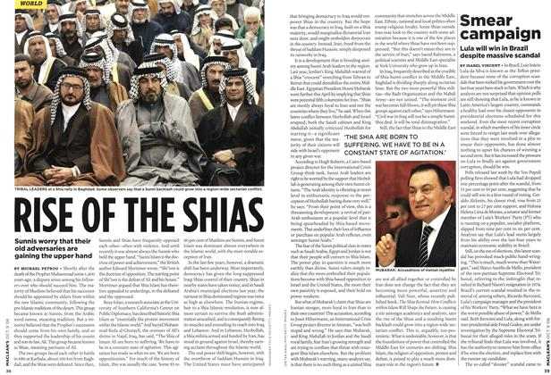 Article Preview: RISE OF THE SHIAS, OCT. 9th 2006 2006 | Maclean's