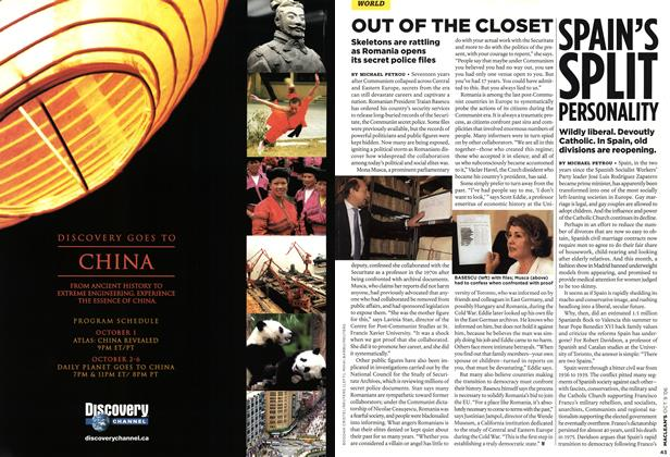 Article Preview: OUT OF THE CLOSET, OCT. 9th 2006 2006 | Maclean's