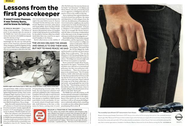 Article Preview: THE ISSUE IN..., OCT. 9th 2006 2006 | Maclean's