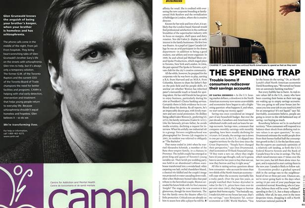 Article Preview: THE SPENDING TRAP, OCT. 9th 2006 2006   Maclean's
