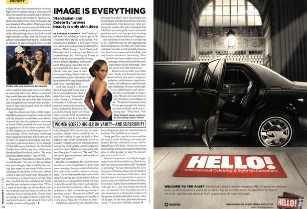 Article Preview: IMAGE IS EVERYTHING, OCT. 9th 2006 2006 | Maclean's