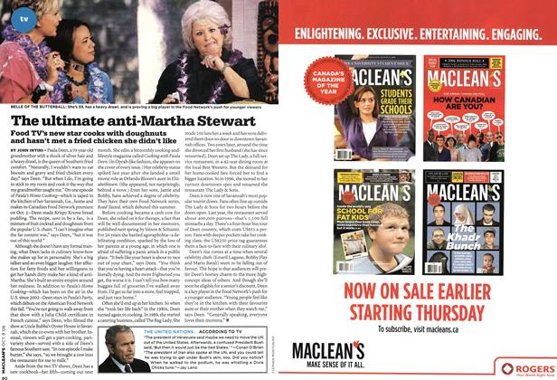Article Preview: The ultimate anti-Martha Stewart, OCT. 9th 2006 2006 | Maclean's