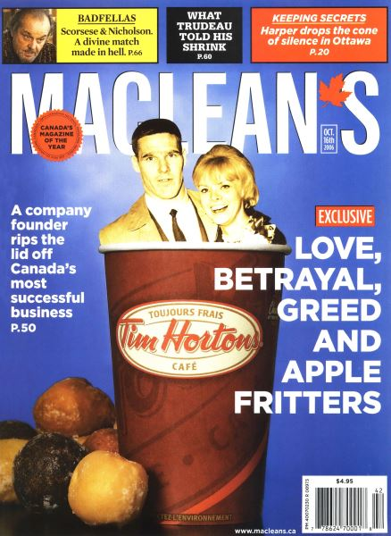 Issue: - OCT. 16th 2006 | Maclean's