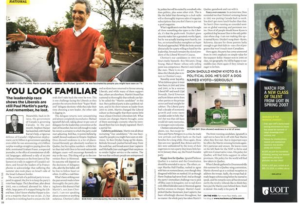 Article Preview: YOU LOOK FAMILIAR, OCT. 16th 2006 2006 | Maclean's