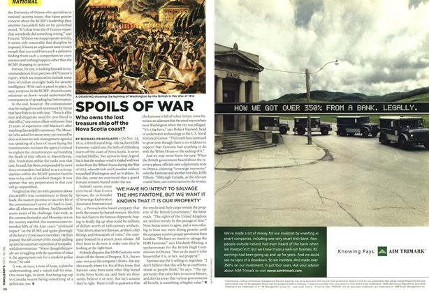 Article Preview: SPOILS OF WAR, OCT. 16th 2006 2006 | Maclean's