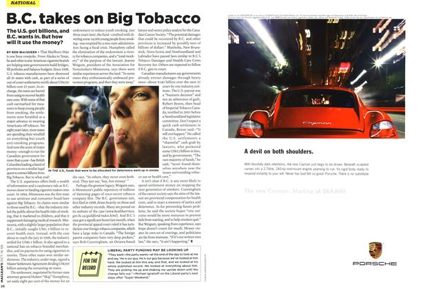Article Preview: B.C. takes on Big Tobacco, OCT. 16th 2006 2006 | Maclean's