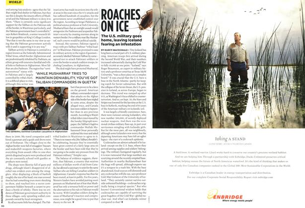 Article Preview: ROACHES ON ICE, OCT. 16th 2006 2006 | Maclean's