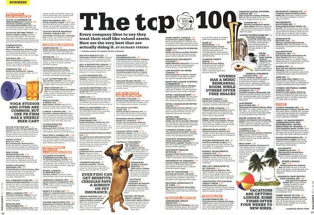 Article Preview: The to p 100, OCT. 16th 2006 2006 | Maclean's