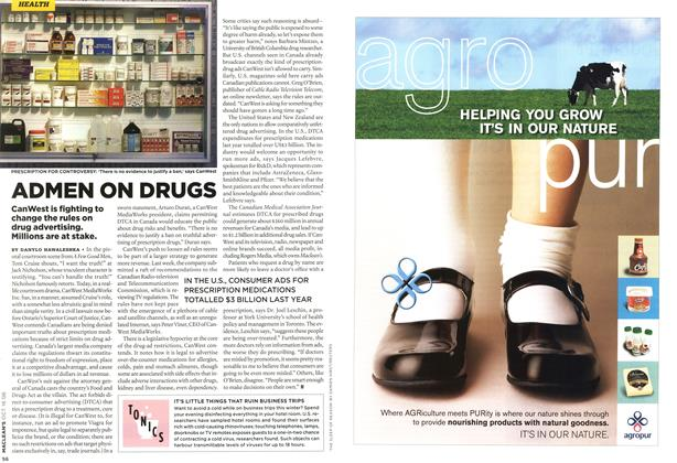 Article Preview: ADMEN ON DRUGS, OCT. 16th 2006 2006 | Maclean's