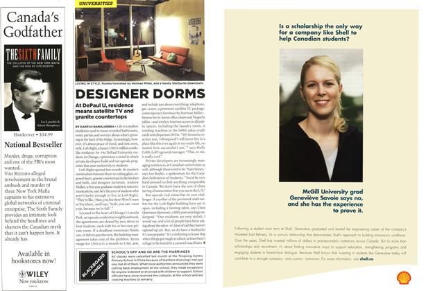 Article Preview: DESIGNER DORMS, OCT. 16th 2006 2006 | Maclean's