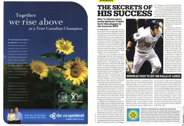 Article Preview: THE SECRETS OF HIS SUCCESS, OCT. 16th 2006 2006 | Maclean's